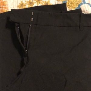 Size 10 Straight Leg Attention Black Pants